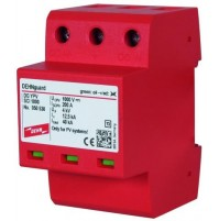 1000V - Multipole Surge Arrester with three-step D.C. Switching Device