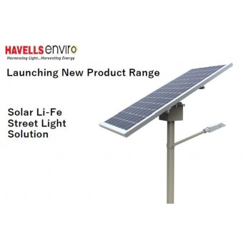 HAVELLS SOLAR STREET LIGHT 15w- 30w