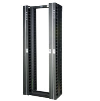 "High Density Cable Manager for Open Racks - 42U - 8"" width"