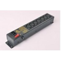 APW PDU Horizontal 5*15 AMP with 6 Socket with 16A MCB